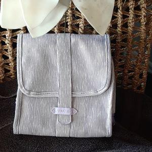 SHISEIDO lilac travel bag